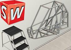 SolidWorks 2010 Estruturas Metálicas e Soldas