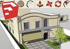 SketchUp 2013 - Modelagem Básica de Residência