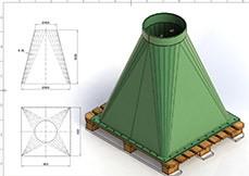 Traçado de Caldeiraria Essencial - CAD 2D e 3D