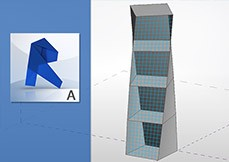 Revit Architecture 2015 Massa Conceitual