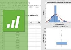 Estatística com Minitab