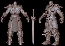 Personagens 3D para Games - Acessórios e Armas