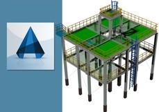 AutoCAD Plant 3D 2016 Modelagem de Estruturas